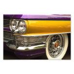 Púrpura y oro arte fotográfico