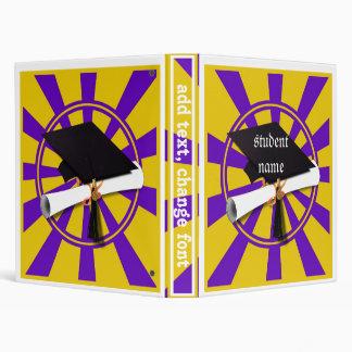 Púrpura y oro (ENFOQUE de los colores de la