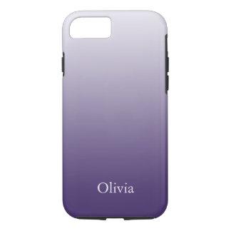 Púrpura y pendiente de la lavanda funda iPhone 7