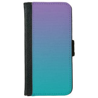"""Púrpura y trullo Ombre"" Carcasa De iPhone 6"