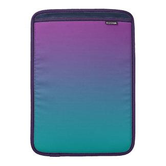 Púrpura y trullo Ombre Fundas Macbook Air