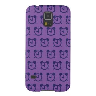 Púrpuras 2 del despertador carcasas de galaxy s5