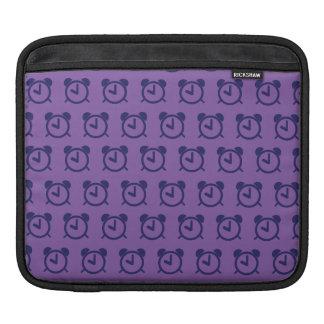 Púrpuras 2 del despertador mangas de iPad