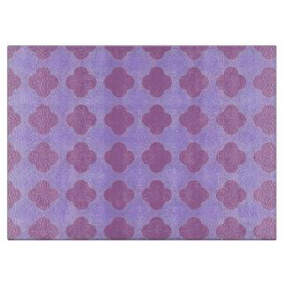 Púrpuras a montones tablas para cortar