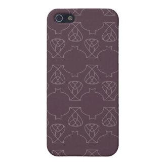 Púrpuras de Avante Garde iPhone 5 Protector