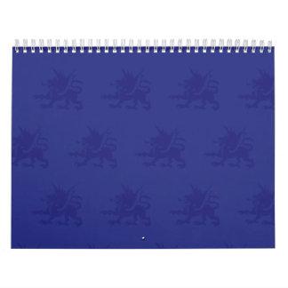 Púrpuras de los dragones calendario