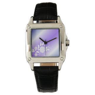 purpure floral watch