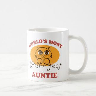 Purr-fect Auntie Coffee Mug