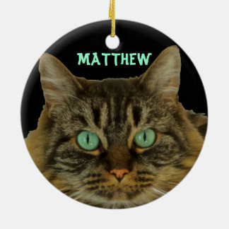 Purr-fect Cat Ornament to Purr-sonalize with Name