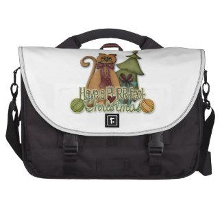 PURR-fect Christmas Commuter Bag