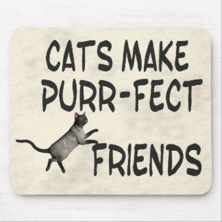 Purr-fect Friends Mouse Pad