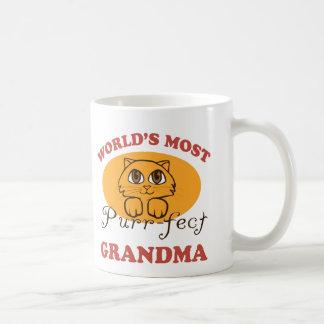 Purr-fect Grandma Coffee Mug