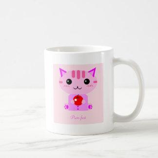 Purr-fect kitty coffee mug