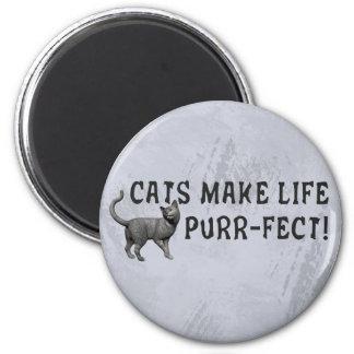Purr-fect Life Magnet