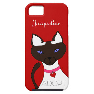 Purr-fect Moira red ADOPT iPhone 5 Vibe Case