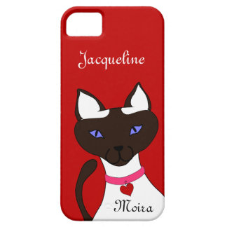 Purr-fect Moira red iPhone 5 iPhone SE/5/5s Case