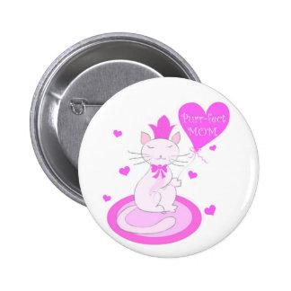 Purr-fect MOM - Button