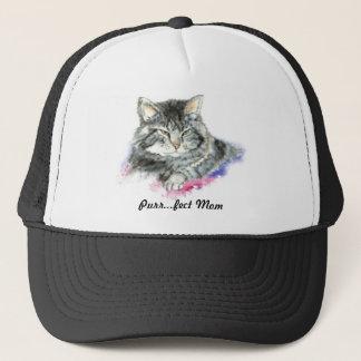 Purr fect Mom for the Cat Lover Trucker Hat