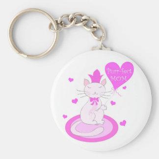 Purr-fect MOM - Keychain