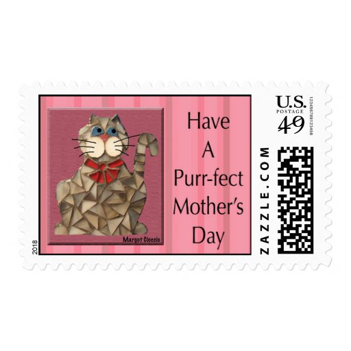 Purr-fect Mother's Day Postage