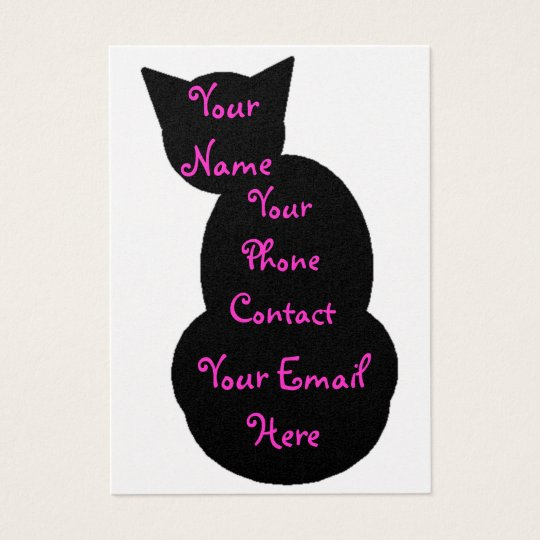 Purr-fect Name Cards