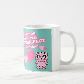 Purr-fect Valentine -Valentine's day mugs
