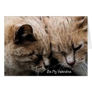 Purr-fect Valentine's Day Card