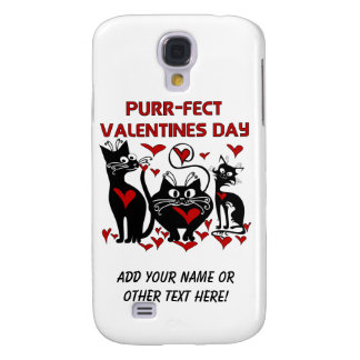Purr-fect Valentines Day Samsung Galaxy S4 Cover