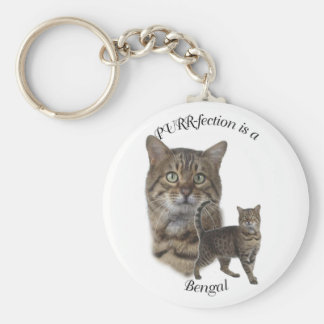 PURR-fection Bengal Keychains