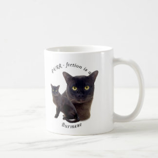 PURR-fection Brown Burmese Coffee Mug