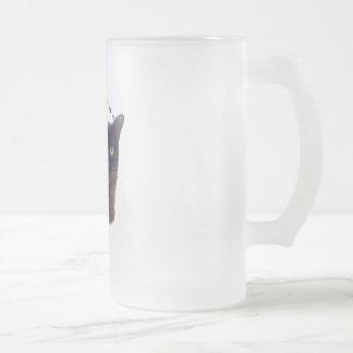 PURR-fection Brown Burmese 16 Oz Frosted Glass Beer Mug