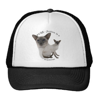 PURR-fection Lilac Point Siamese Trucker Hat