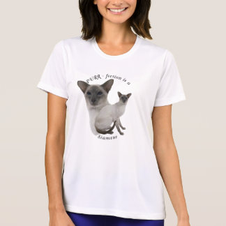 PURR-fection Lilac Point Siamese T Shirts