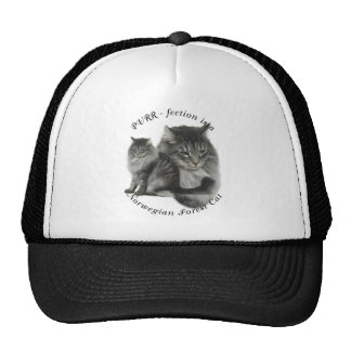 PURR-fection Norwegian Forest Cat Trucker Hat