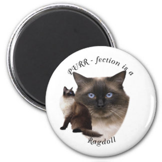 PURR-fection Ragdoll Fridge Magnets