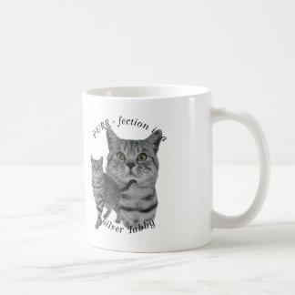 PURR-fection Silver Tabby Classic White Coffee Mug
