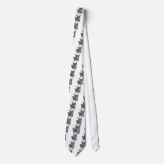 PURR-fection Silver Tabby Tie
