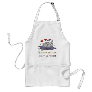 Purr In Heart Aprons
