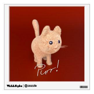 Purr Kitten Wall Decal