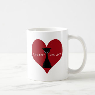 Purr More, Hiss Less Coffee Mug