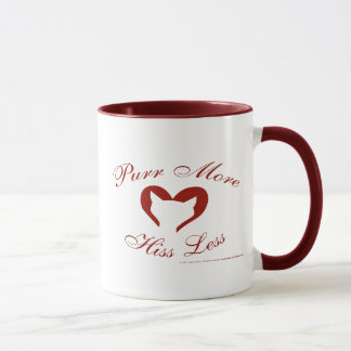 Purr More, Hiss Less Mug