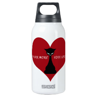 Purr More, Hiss Less SIGG Thermo 0.3L Insulated Bottle