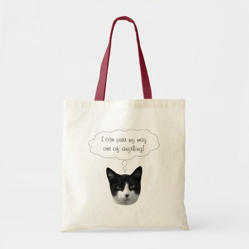 Purr My Way Out of Anything Bag