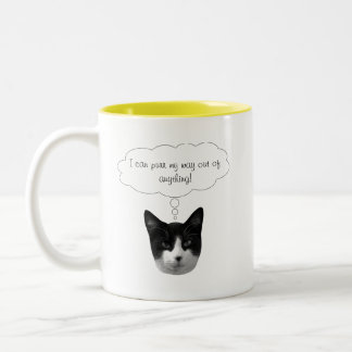 Purr My Way Out of Anything Mug