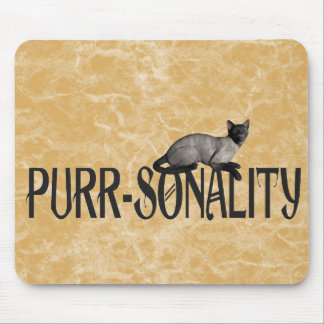Purr-sonality Mouse Pad