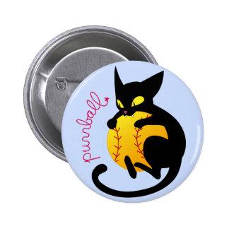 Purrball Flair Button