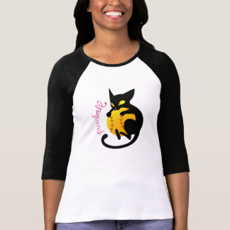 Purrball Raglan T-Shirt