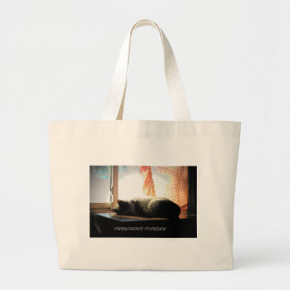 PURRCHANCE TO DREAM LARGE TOTE BAG