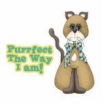 Purrfect Autism Awareness Kitty Cat Photo Cutout