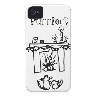 Purrfect Christmas Cats iPhone 4 Covers